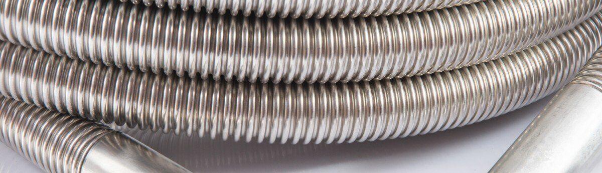solar-hoses-single tubi metallici per solartermi